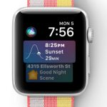watchOS 4 - Siri Watchface