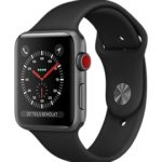 Apple Watch Series 3 GPS+LTE, alu, space gray