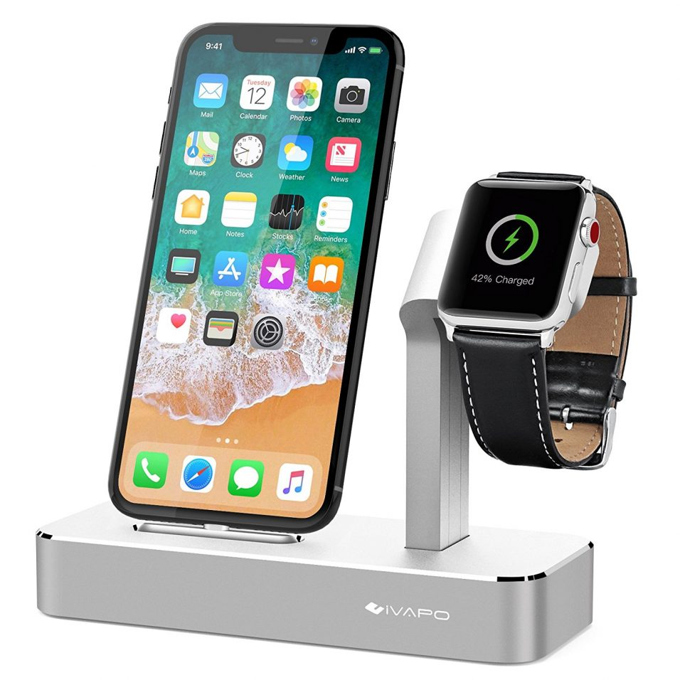 iVAPO Ladestation für iPhone und Apple Watch