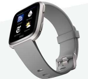 Fitbit Versa Grau Apps