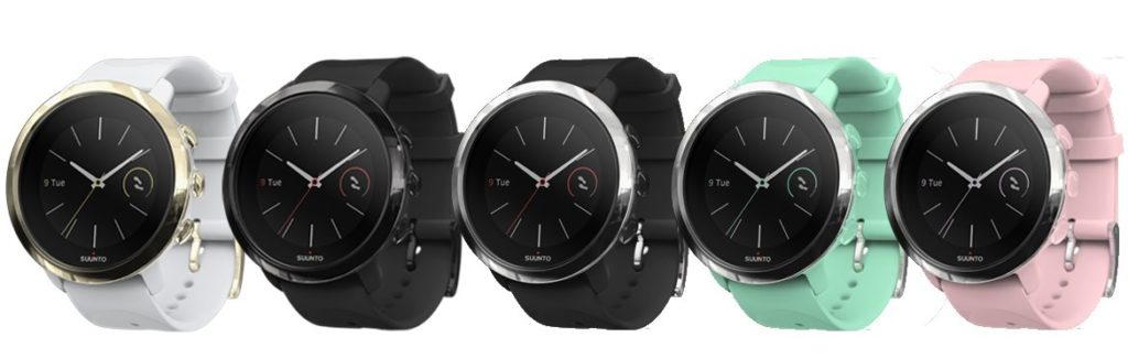 Suunto 3 Fitness - Modellpallette