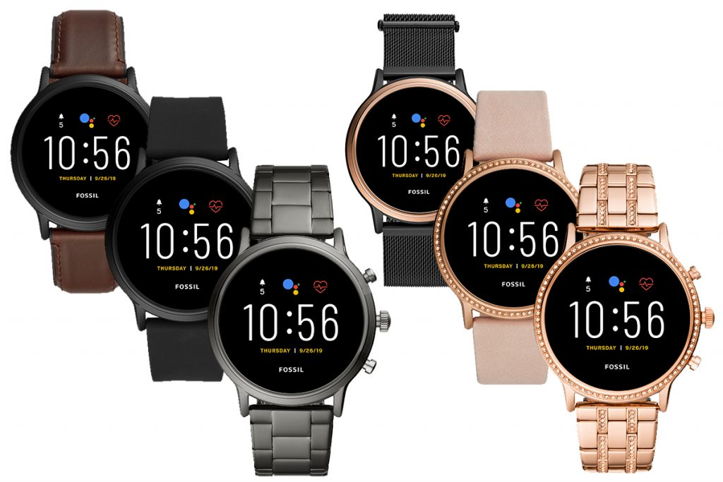 Fossil Gen 5 smartwatch lineup press images 1024x683 1