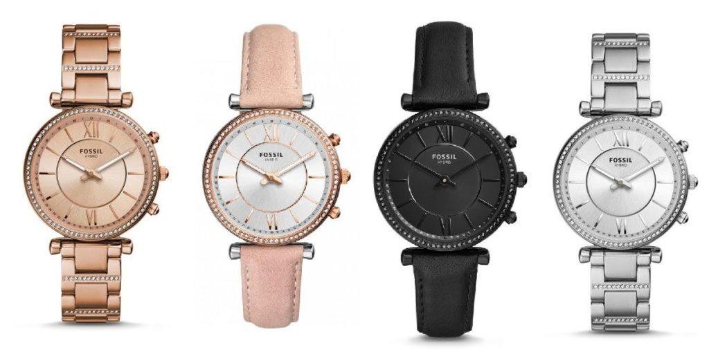 Fossil Q Carlie Damen Hybrid Smartwatch